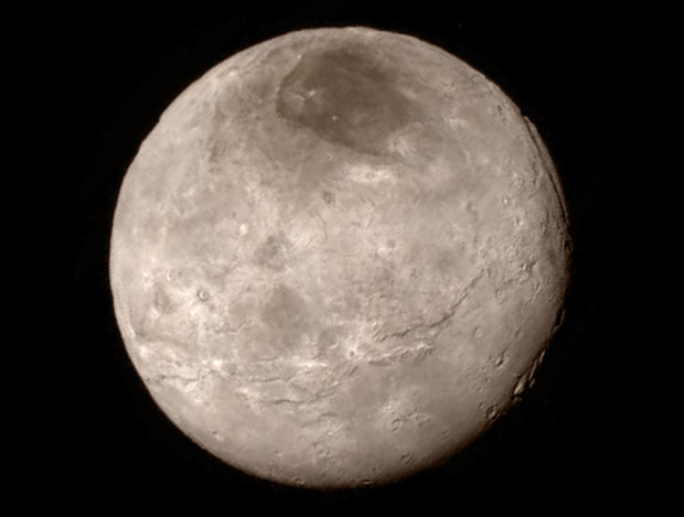 Photo via NASA-JHUAPL-SwRI/Charon