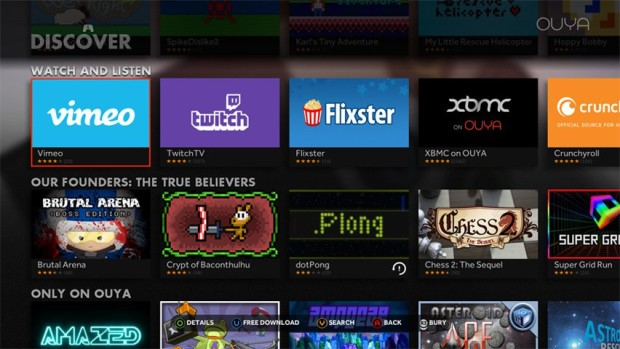 ouya discover-apps