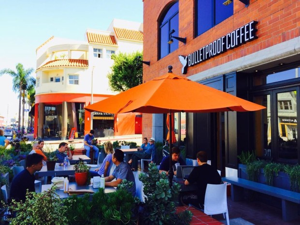 Bulletproof Coffee's first location in California. Photo credit: Bulletproof