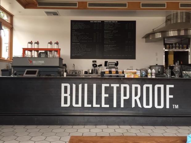Bulletproof Coffee's first location in Santa Monica, California.