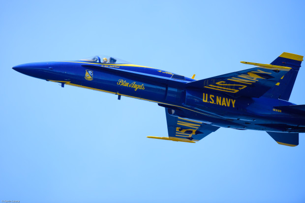 The U.S. Navy Blue Angels perform at Seafair 2015 in Seattle