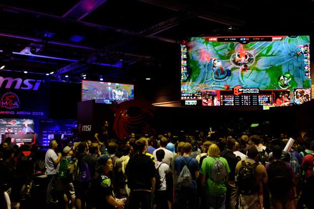 MSI eSports demo - PAX 2015