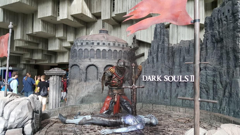 Dark Souls II gusher