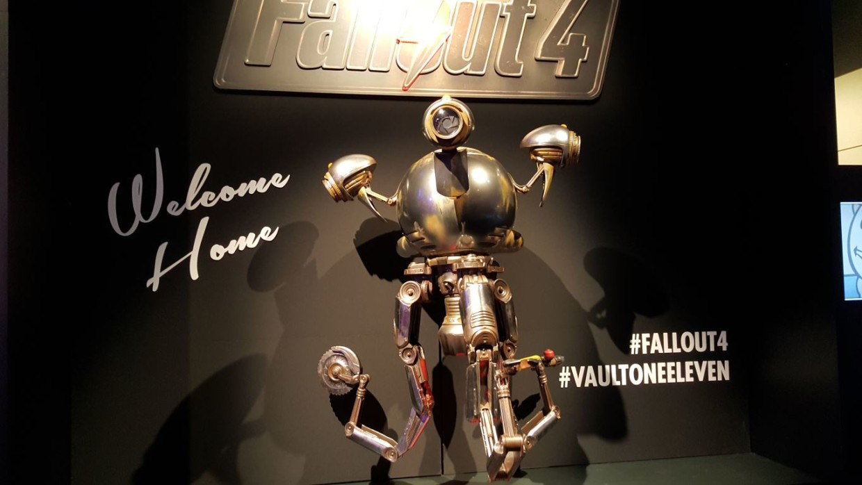 Fallout 4 animated robot
