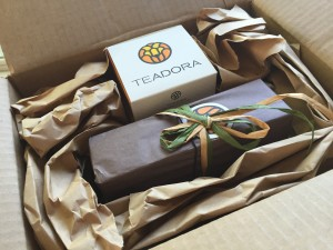 Teadora believes in the importance of good packaging.