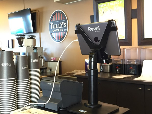 Tully's Coffee rolls out a new point of sales system using the iPad.