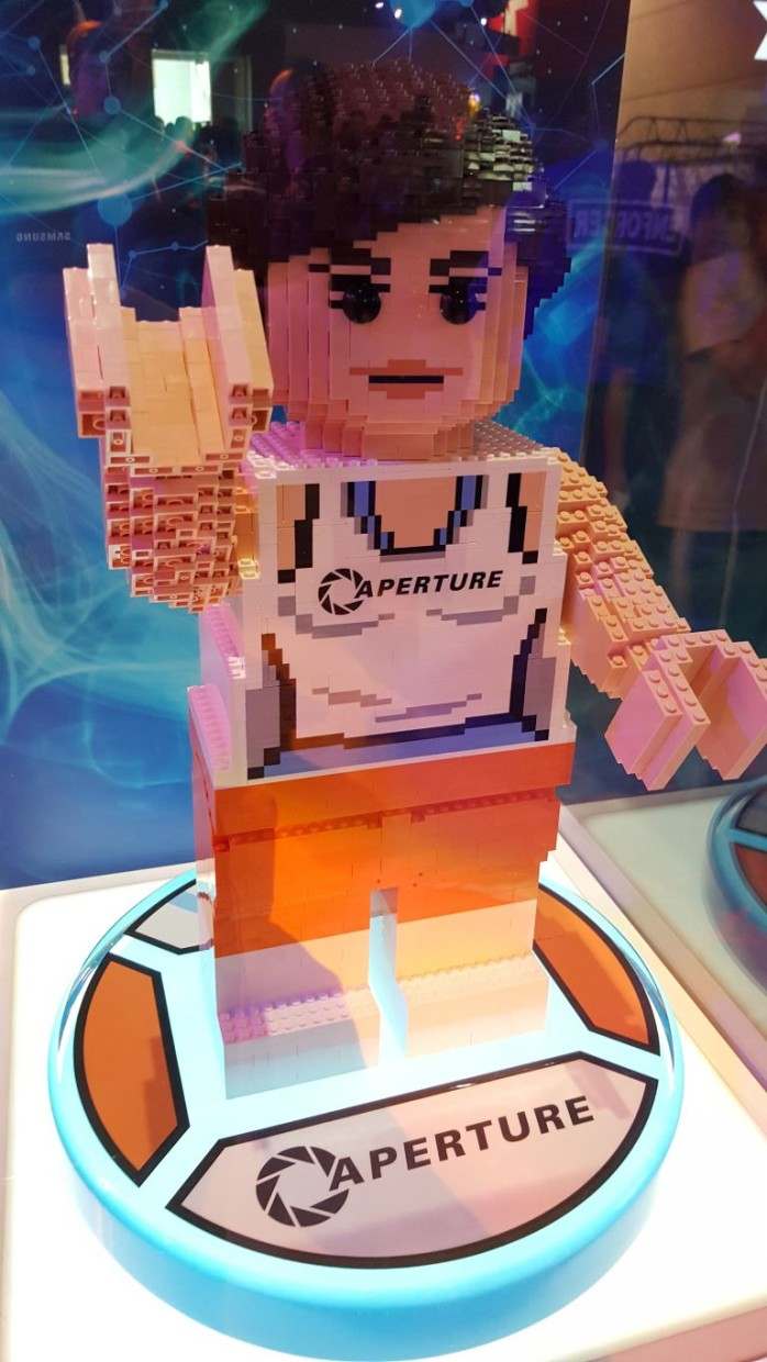 LEGO Chell from Portal