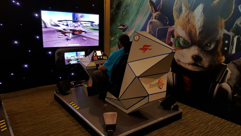 Nintendo StarFox cockpit