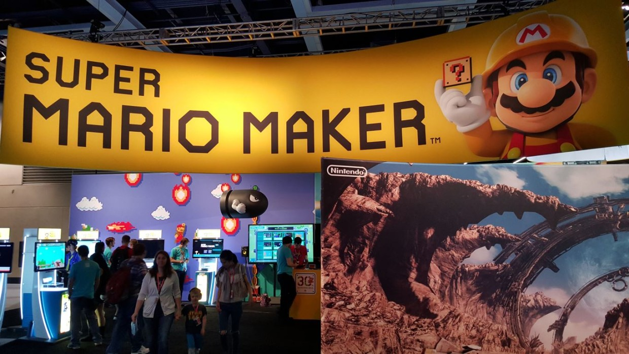 Nintendo's main booth