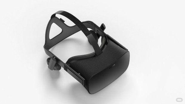 The Rift headset. Photo via Oculus