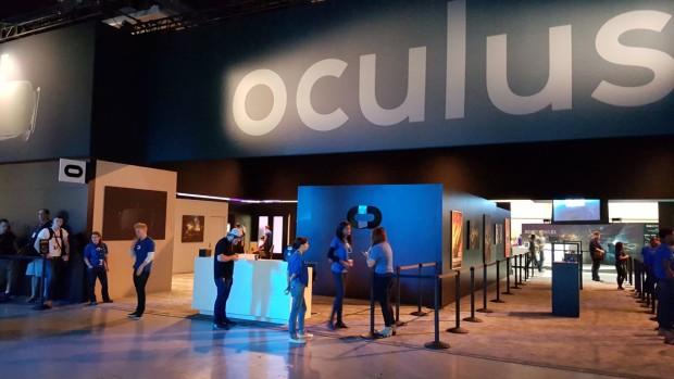 Oculus booth