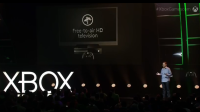 Microsoft's Mike Ybarra announces DVR functionality for Xbox One.