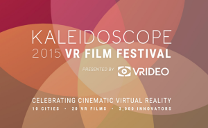 Photo via Kaleidoscope Virtual Reality Film Festival