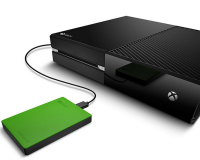 "Seagate's 2 TB ""Game Drive"" built specifically for the Xbox One and Xbox 360."