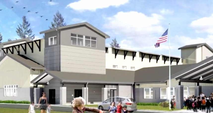 Coastal Washington Town Building A Tsunami Shelter