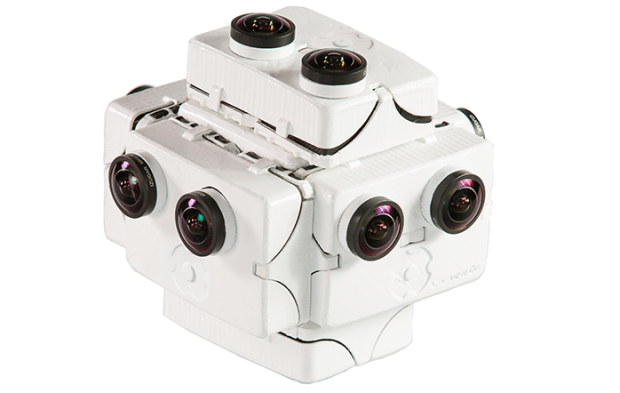 Photo via Kickstarter/SpaceVR Overview One camera