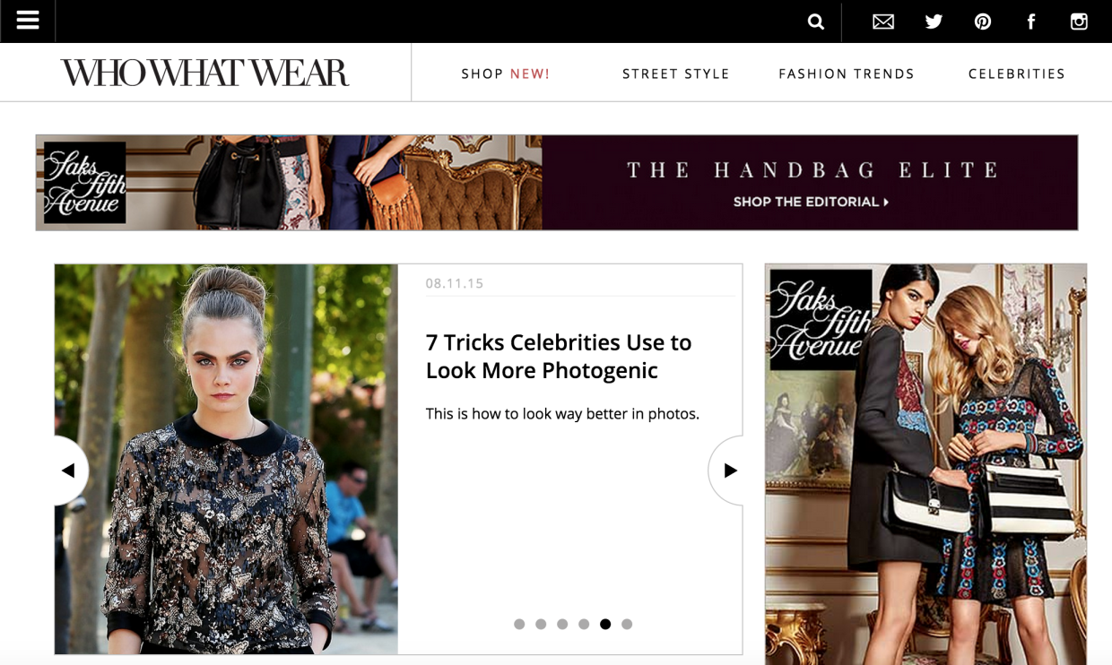 Amazon Invests In Fashion Site That Shows You Where To Buy What Celebrities Are Wearing Geekwire