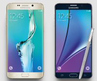 Samsung Galaxy S6 Edge+ and Note 5 with S Pen
