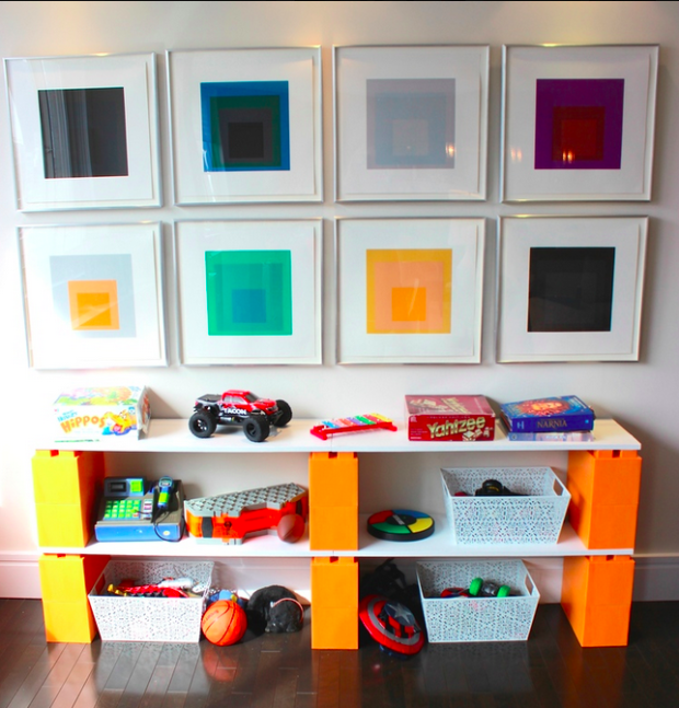 EverBlock/Kids' toy organizer