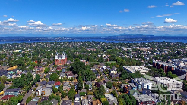 Seattle by Air/Capitol Hill