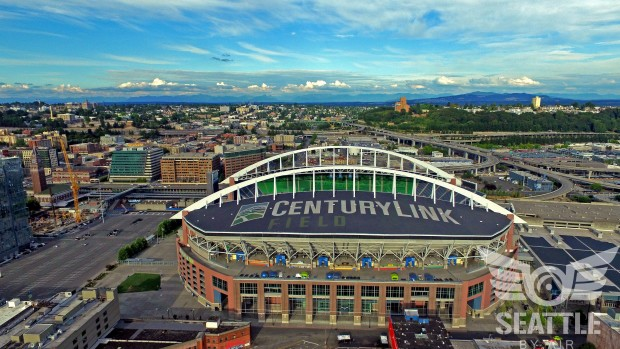 Seattle by Air/CenturyLink Field