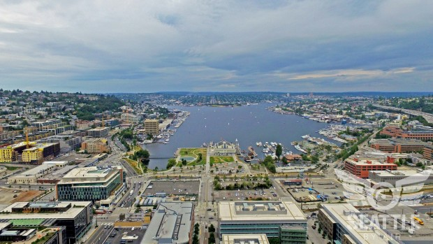 Seattle by Air/South Lake Union