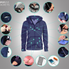 Photo via Kickstarter/BauBax World's Best Travel Jacket