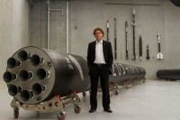 Peter Beck and Rocket Lab's Electron launch vehicle