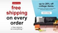 target free shipping