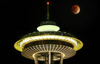 Seattle lunar eclipse