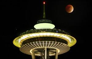 Seattle lunar eclipse