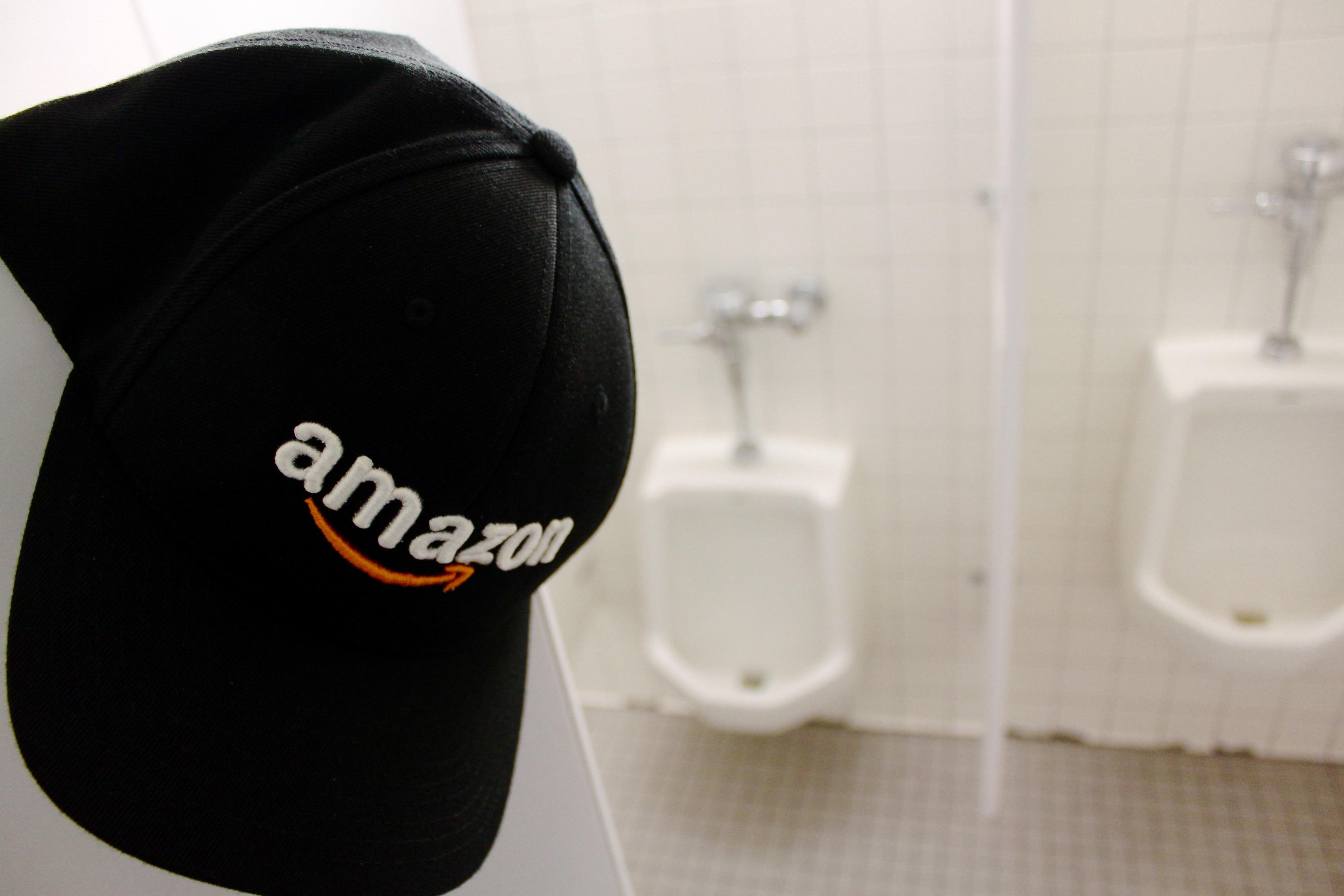 amazon u0026 39 s potty problem  too many dudes  not enough toilets
