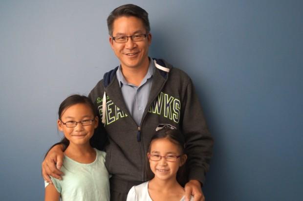 Rebecca, Winston and Kimberly Yeung.