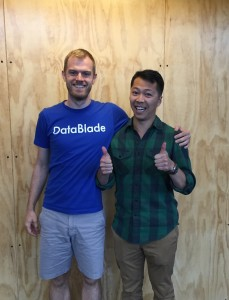 DataBlade co-founders Jeremy Brudvik and Allen Chen.