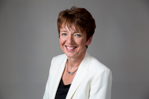 Newly-appointed Getty Images CEO Dawn Airey. Photo: John Moore/Getty Images