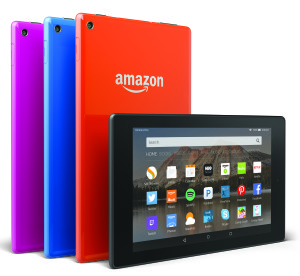 Fire HD 8 tablet. Amazon Photo