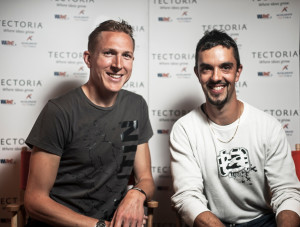 Giftbit co-founders Leif Baradoy and Peter Locke.