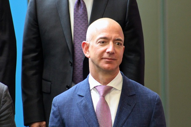 Amazon CEO Jeff Bezos spoke to a small group of startup CEOs in Seattle last night