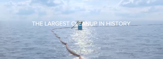 Photo via Ocean Cleanup