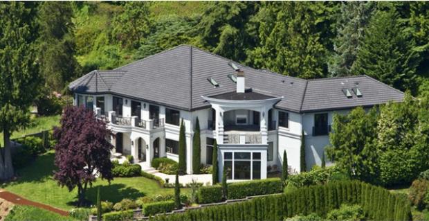 Russell Wilson's house in Bellevue, Washington