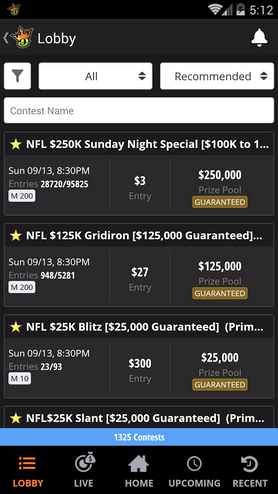 Daily fantasy football craze: DraftKings, FanDuel spend combined $27M on advertising this week