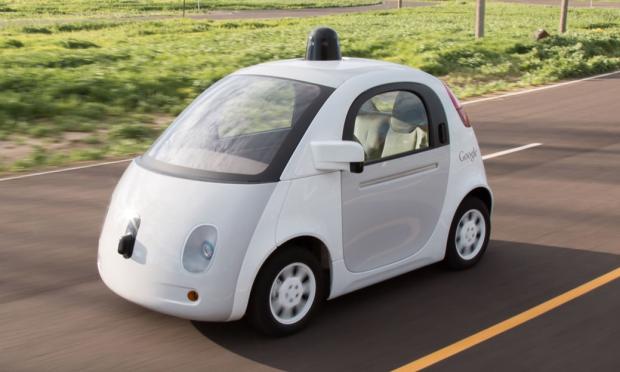 Photo via Google self-driving car project