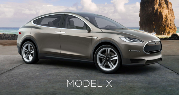 Photo via Tesla/Model X