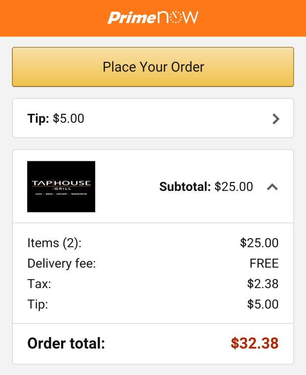 how to get a receipt from amazon