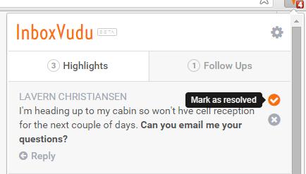 inbox vudu extension