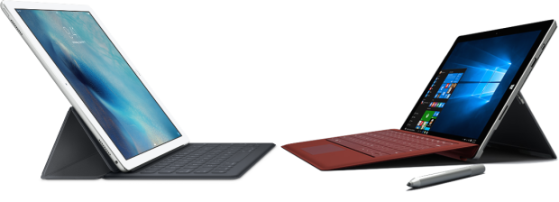iPad Pro and Surface Pro 3
