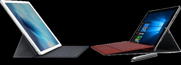iPad Pro and Surface Pro 3