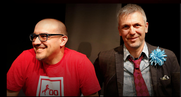 Dave McClure and Brady Forrest.