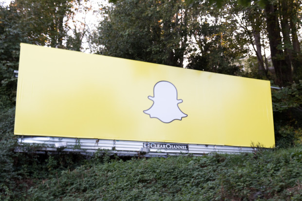 Shapchat billboard