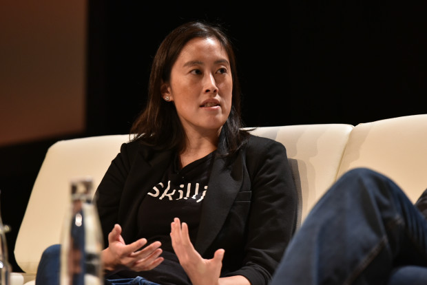 Sandi Lin of Skilljar is one of the few women entrepreneurs to graduate from Techstars, which is trying to boost the number of women participating in the startup incubator